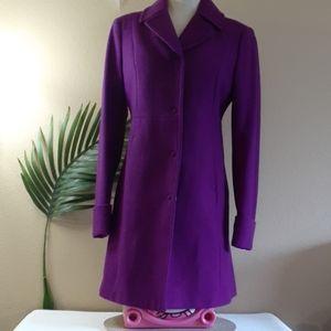 🆕️ BENETTON Italian wool winter career dress coat